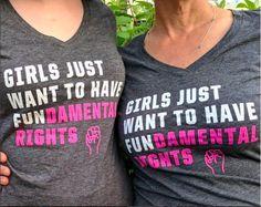 "@_chris_burnside wearing Cyndi Lauper's ""Girls Just Want to Have Fundamental Rights"" shirt!"