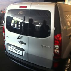 The new Mercedes-Benz Citan. Available from Pentagon Commercials in January 2013.