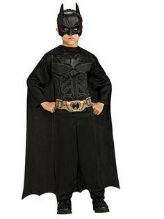 Batman Child Action Suit Set  sc 1 st  Pinterest & Toddler Boys Batman Costume Deluxe - The Dark Knight Rises | Batman ...