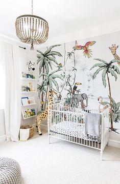 Outstanding Kids Jungle Room Design Ideas To Creative Explorer Safari Bedroom, Baby Bedroom, Baby Boy Rooms, Baby Room Decor, Nursery Room, Kids Bedroom, Nursery Furniture, Room Boys, Nursery Ideas