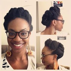 Click the image for Ijeoma's natural hair photos and regimen.
