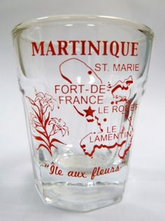 I'll drink to that Martinique