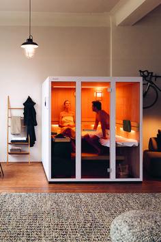 Sauna House, Sauna Room, Indoor Sauna, Workout Room Home, Sauna Design, Luxury Rooms, Diy Apartment Decor, Girl Bedroom Designs, Modern House Plans