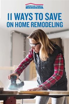 Remodeling your house is an exciting time! But it can get pricey. So we've put together some tips to help lower your home improvement costs. From DIY suggestions to ideas on thrifty materials, here's how you can save big on your home renovations. Diy Kitchen, Kitchen And Bath, Home Improvement Projects, Home Projects, Home Renovation, Home Remodeling, Remodeling Costs, Home Repair, Diy Videos