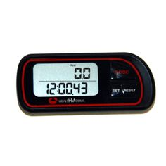 Health Mobius PD-926 5 Function Walking Pedometer w/ Health Mobius Logo *** You can find more details by visiting the image link.