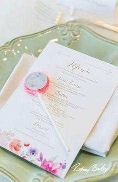 Margot & Joe's lavender + mint wedding was pretty in pastels! #BitsandBuds blog: http://www.thedandelionpatch.com/real-wedding-wednesday-margot-joe #hayadams #wedding #dcweddings #dcweddingplanner