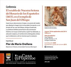 Flor de María Orellana, M.A. en Historia, testimonio y conferencista   Blog Praxis & Lexis – Escuela de posgrado