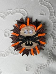 Lion Hair Clip by EmilyKatesBows on Etsy, $6.00