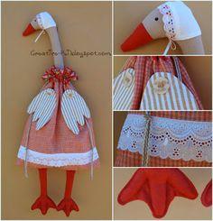 Creative-Ki: Goose-bag package / Гусь-пакетница
