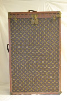 LOUIS VUITTON WARDROBE TRUNK FROM THE ESTATE OF FRANCOIS COTY - CIRCA 1930'S | eBay