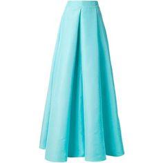 Roksanda - full pleated skirt - women - Silk/Cotton - 10