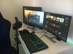 Gaming Setup 2017 - Streaming/YouTube GAMING!
