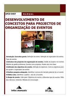 ufcd 0497. Desenvolvimento de conceitos para projetos de Organização de eventos