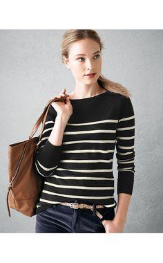 Luxe Merino Boatneck Sweater