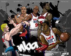 USA Basketball Legends