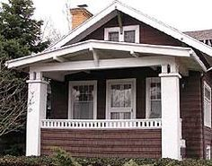 Arts And Crafts Bungalow Porch
