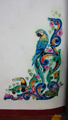Artwork in sarchi Costa Rica