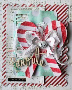 Christmas card by Sarah Bargo Designs