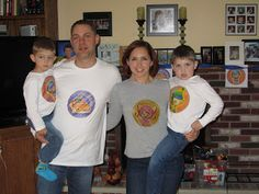 Team Umizoomi Birthday Party character shirts: free printables - use iron-on transfer paper