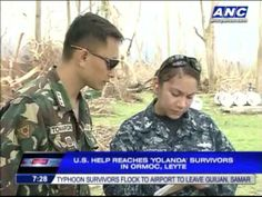 Many U.S. Navy personnel helping Ormoc are actually Filipino