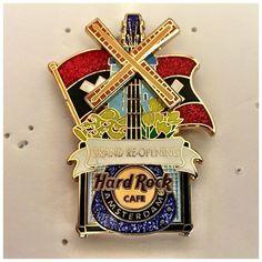 Hard Rock Cafe Amsterdam Grand re Opening Pin   eBay