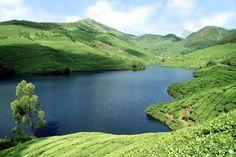 Mattupetty Lake, Munnar, Kerala, south India, India