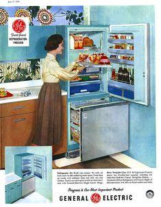 Great Fridge   My Grandma Jorden Had One Similar To This : ) Iu0027 · 1950s  KitchenVintage ...