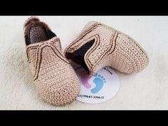 Crochet Baby, Free Pattern, Slippers, Booty, Gaston, Youtube, Knitting, Videos, Toddler Girl Shoes
