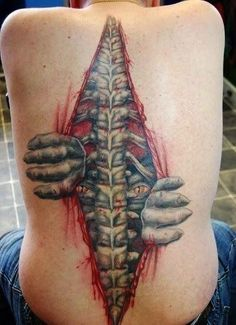 20 Most Amazing Yet Disturbing Tattoos That Might Scare You