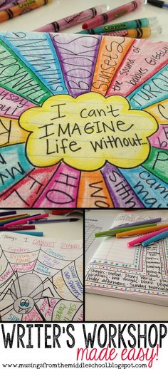 Teaching Writing: the (video post!) VIDEO post about implementing Writer's Workshop in your classroom! Lots of great tips The post Teaching Writing: the (video post!) appeared first on School Ideas. Writing Lessons, Teaching Writing, Art Lessons, Writing Art, Essay Writing, Writing Strategies, Opinion Writing, Kids Writing, Expository Writing Prompts