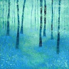 Bluebells, Challock Art Print by Squirrell | Society6