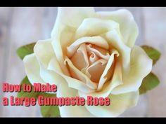 Kara Andretta - Sugar Rose Tutorial with Narration - YouTube