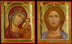 Wedding Icon, Russian Orthodox, Orthodox Christianity, Art Icon, Orthodox Icons, Virgin Mary, Christian Faith, Jesus Christ, Book Art