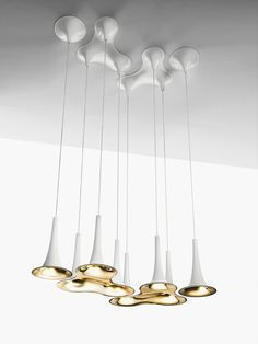 LED Pendant lamp NAFIR by AXO LIGHT | #Design Karim Rashid #rashid #light @AxoLight