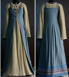 Made by Savelyeva Ekaterina. An interesting interpretation of the apron dress.