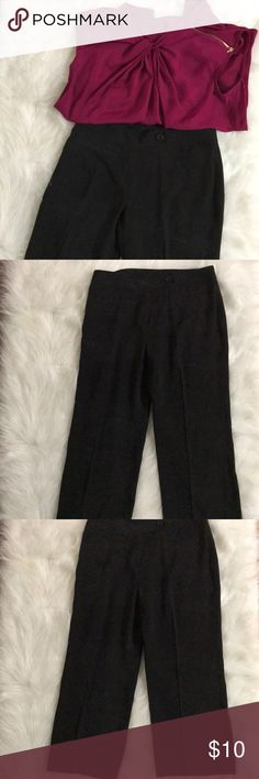 "Cato Black Capris Cato Brand Capris.  Excellent condition,  Measurements:  Waist 15""across  Hips 17"" across  Length 30"" Cato Pants Capris"
