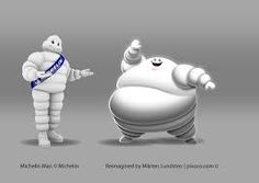 Image result for michelin man