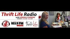 Fab Finds Thrift Life Radio Sandra Conners 103 9 FM WSOS S1 E9