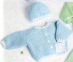 Bergere de France Hat & Sweater Knitting Pattern