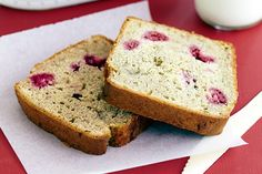gluten-free banana and raspberry delicious and nutritious gluten-free recipes on a budget) Gluten Free Banana, Gluten Free Sweets, Gluten Free Cakes, Gluten Free Cooking, Vegan Gluten Free, Gluten Free Recipes, Bread Recipes, Raspberry Bread, Blueberry
