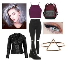 """""""My perfect outfit"""" by nono-viana on Polyvore featuring Topshop, Timberland, Victoria's Secret and VIPARO"""