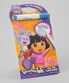 Take a look at this Dora The Explorer Imagine Ink Activity Book by Dora the Explorer on #zulily today!