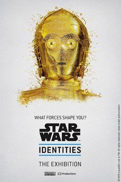 New 'Star Wars Identities' Posters In Digital Mosaic Form