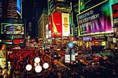 Times Square, New York City. I love it there, hope to go back some time soon