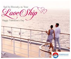 Live the beauty of your relationship #sailing through the waves of enchanting #love. Happy #ValentinesDay!