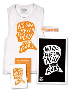 World Suicide Prevention Day (Sleeveless) - Available in the TWLOHA Online Store #TWLOHA #NoOneElse14 #WSPD14