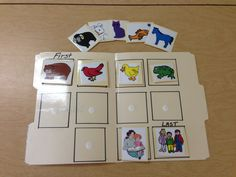 Brown Bear, Brown Bear, What Do You See sequencing/story telling activity! Laminate a file folder and picture cards for long term use!