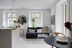piso 40 metros decoración pequeño piso sueco estilo nórdico estilo escandinavo distribución diáfana decoración pisos pequeños buena planificación vivienda 6 claves para una cocina de estilo nórdico