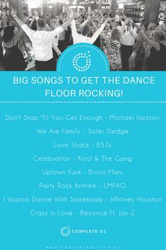 Classic wedding floor fillers, big music hits that will get your dance floor going off! Wedding Reception Music, Wedding Dj, Budget Wedding, Wedding Country, Reception Party, Wedding Shot, Wedding Ideas, Country Weddings, Vintage Weddings