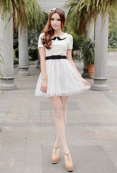 Mango Doll - Sweet Doll Collar Dress, $45.00 (http://www.mangodoll.com/all-items/sweet-doll-collar-dress/)